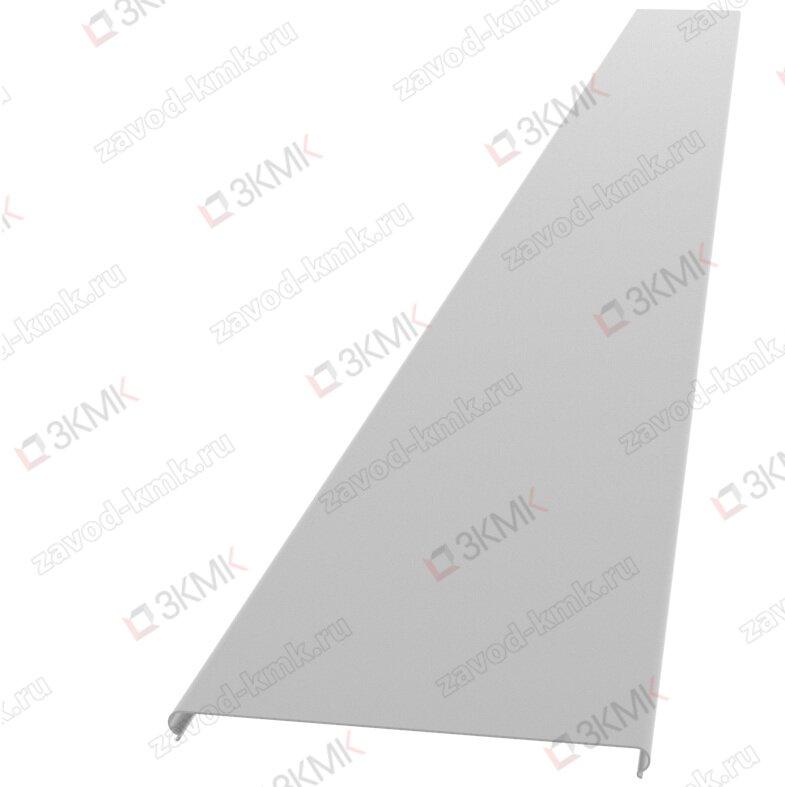 Крышка на лоток 200 мм длина 3000 мм (0,55 мм) оцинкованная