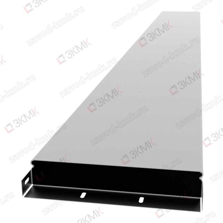 Короб прямой СП 300х50 толщина 1,0 мм длина 2,5м нержавеющая сталь