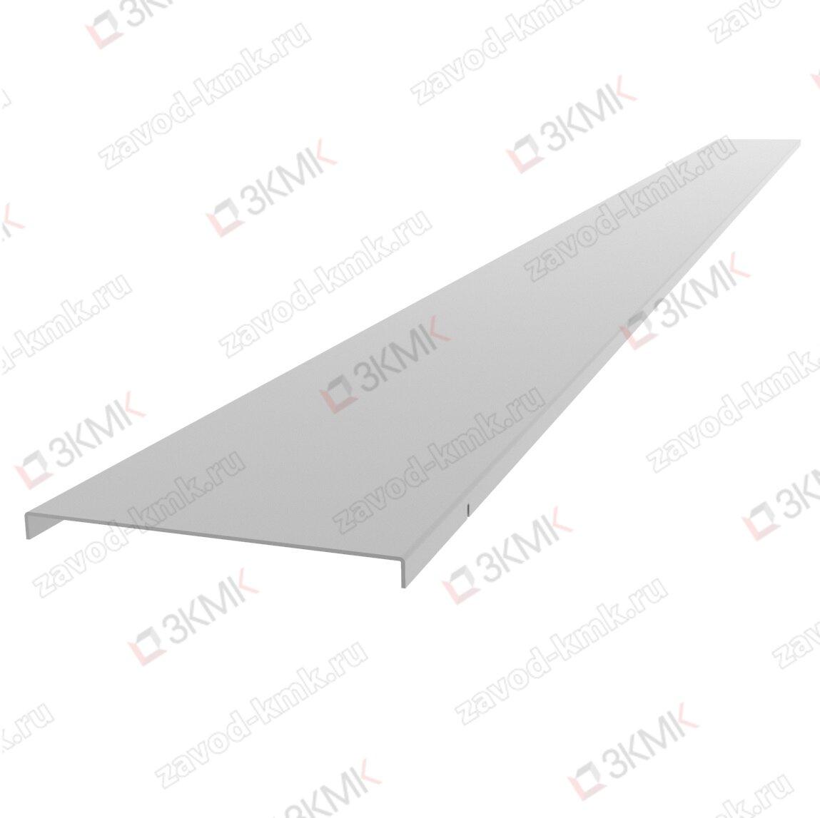 Крышка на лоток тяжелой серии 200 мм длина 2000 мм (1,0 мм) крашенная